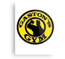 Gaston's Gym Metal Print