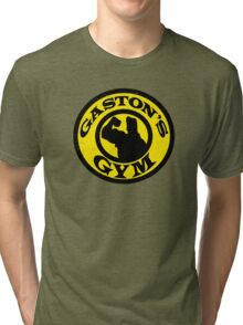 Gaston's Gym Tri-blend T-Shirt