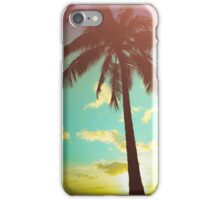 Retro Styled Palm Tree iPhone Case/Skin