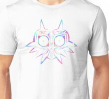 Majora's Mask Lines Color 2 Unisex T-Shirt