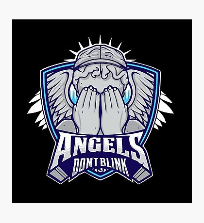 Angels- Don`t Blink Photographic Print