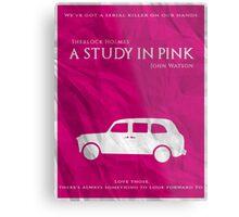 BBC Sherlock - A Study in Pink Metal Print