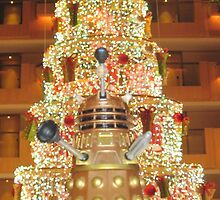 Dalek Christmas by zenjamin