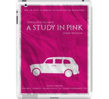 BBC Sherlock - A Study in Pink iPad Case/Skin
