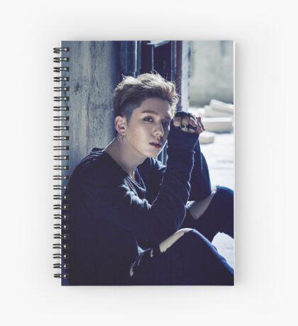 monstaX kihyun stuck Spiral Notebook