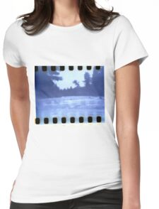 Up Stream Womens Fitted T-Shirt