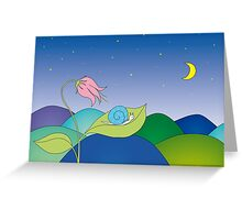 Sweet dreams in the night. Greeting Card