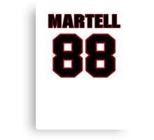 NFL Player Martell Webb eightyeight 88 Canvas Print