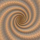 Swirling Gold by Julie Everhart by Julie Everhart