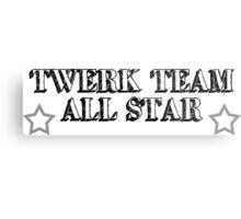 Twerk Team All Star Metal Print
