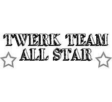 Twerk Team All Star Photographic Print