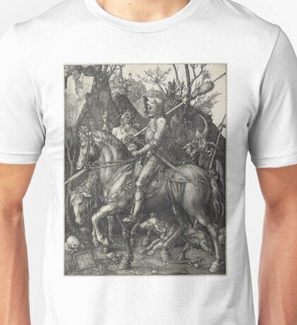 Albrecht Durer - Knight, Death And Devil Unisex T-Shirt
