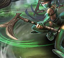 Lol Akali League of Legend by gleviosah