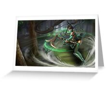 Lol Akali League of Legend Greeting Card