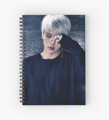 Minhyuk MonstaX Stuck Spiral Notebook