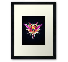 TAZOR (Abstract Future Scifi Artwork) Framed Print