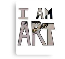 I AM ART - Hiccup&Toothless Canvas Print