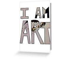 I AM ART - Hiccup&Toothless Greeting Card