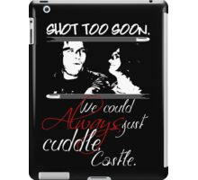 Shot Too Soon iPad Case/Skin