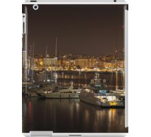 Yachts in Palma marina Majorca iPad Case/Skin
