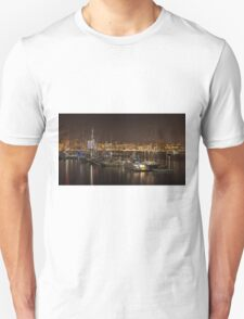 Yachts in Palma marina Majorca Unisex T-Shirt