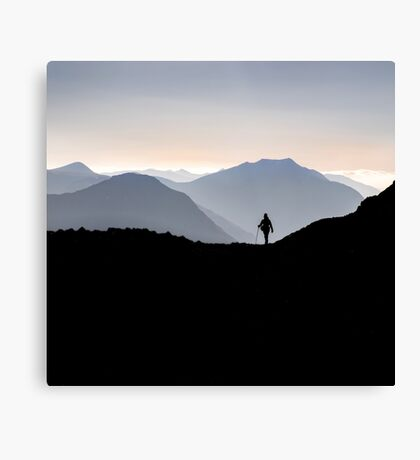 freedom in the hills Canvas Print
