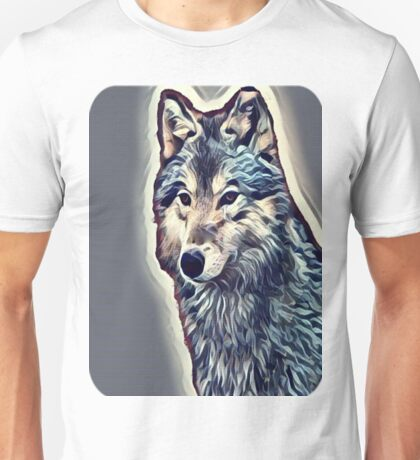 The Tundra Wolf Unisex T-Shirt