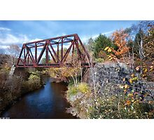 Autumn Travels Photographic Print