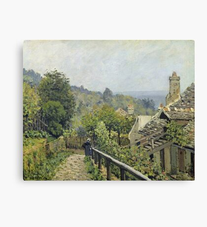 Alfred Sisley - Louveciennes Or, The Heights At Marly Canvas Print