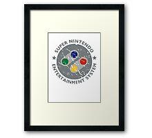 SNES All Star Framed Print