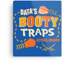 Data's Booty Traps Metal Print