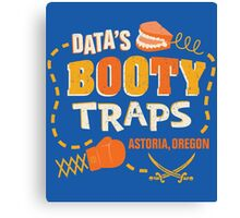 Data's Booty Traps Canvas Print