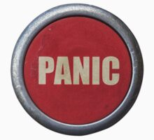 Red Industrial Panic Button by mrdoomits