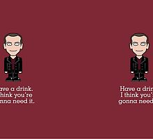 Ninth Doctor (mug) by redscharlach