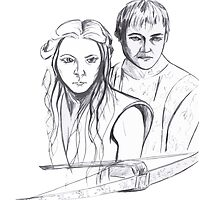 Joffrey and Margaery, Game of Thrones by drknice