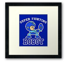 Super Fighting Robot Framed Print