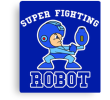 Super Fighting Robot Canvas Print