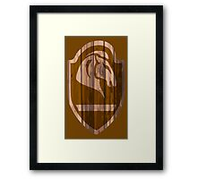 Whiterun Hold Shield Framed Print