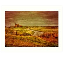St Thomas Becket Fairfield Art Print