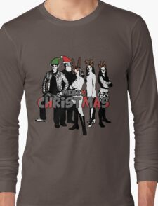 Merry Christmas from The Scooby Gang! Long Sleeve T-Shirt