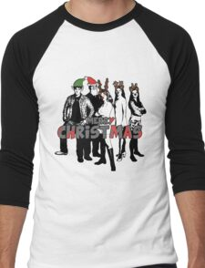 Merry Christmas from The Scooby Gang! Men's Baseball ¾ T-Shirt