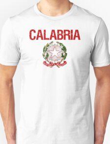 Calabria Surname Italian T-Shirt