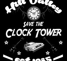 Save the Clock Tower by AllMadDesigns