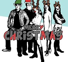 Merry Christmas Card from The Scooby Gang! by Vixetches