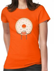 donut loves holidays Womens Fitted T-Shirt