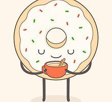 donut loves holidays by kimvervuurt