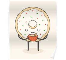 donut loves holidays Poster