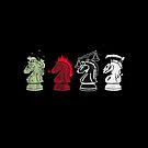Four Horsemen Checkmate by rasabi