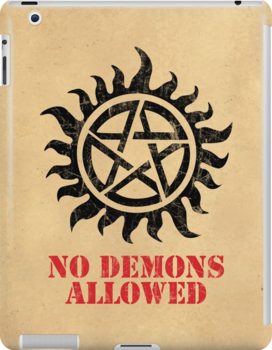 Supernatural No Demons Allowed [BLACK] by Styl0