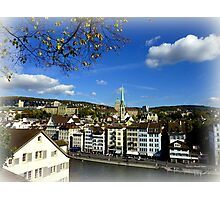 View from Lindenhof Photographic Print